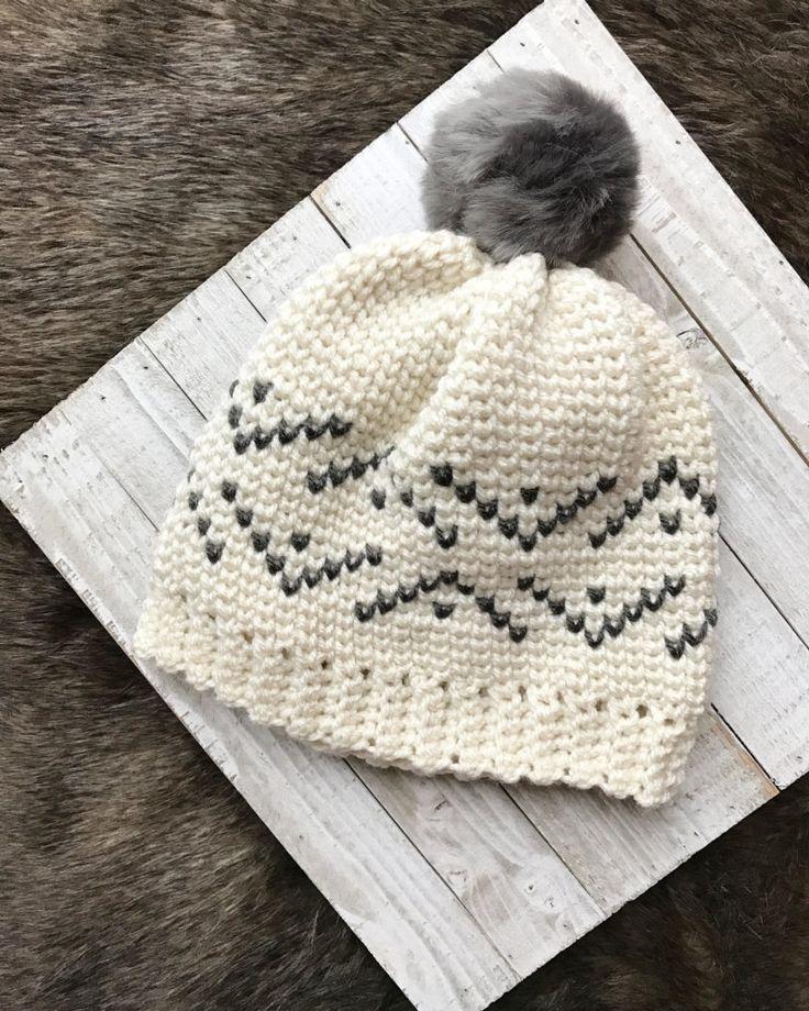 1482 best gorros al crochet images on Pinterest   Crochet hats, Knit ...