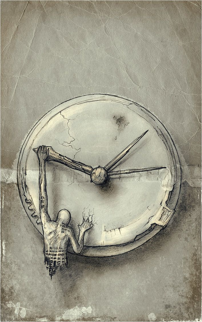 Yeah....pretty much know how this guy feels.  SLOW DOWN TIME!  ✯ Time Eccentric - VIII .:☆:. Artist Lucian Stanculescu ✯