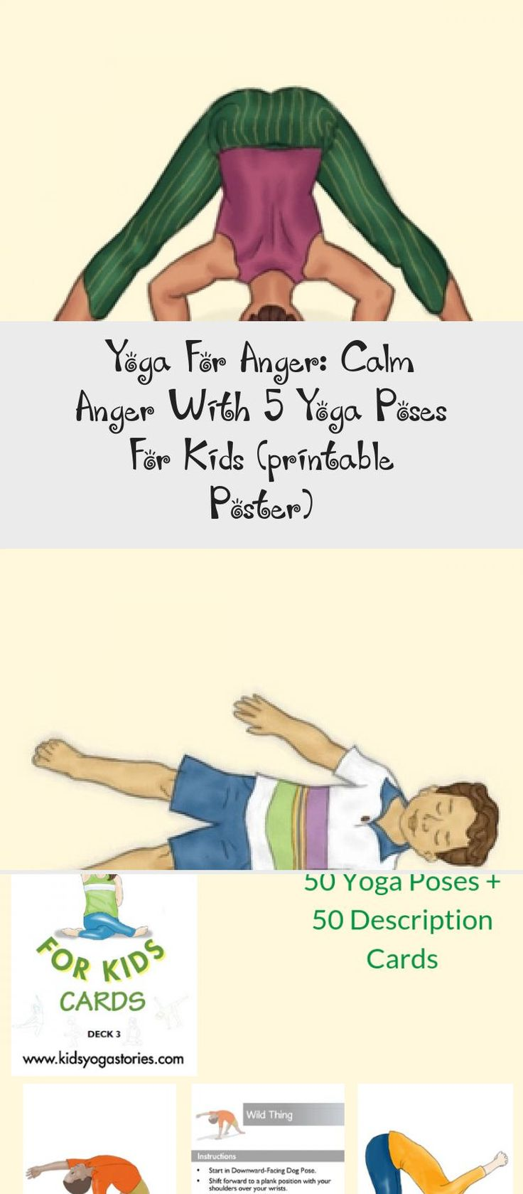 Yoga For Anger: Calm Anger With 5 Yoga Poses For Kids ...