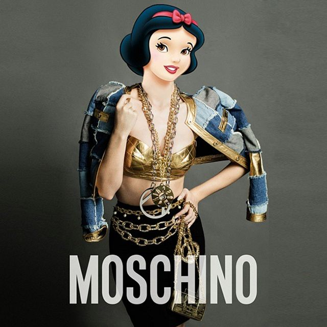 Snow White for Moschino