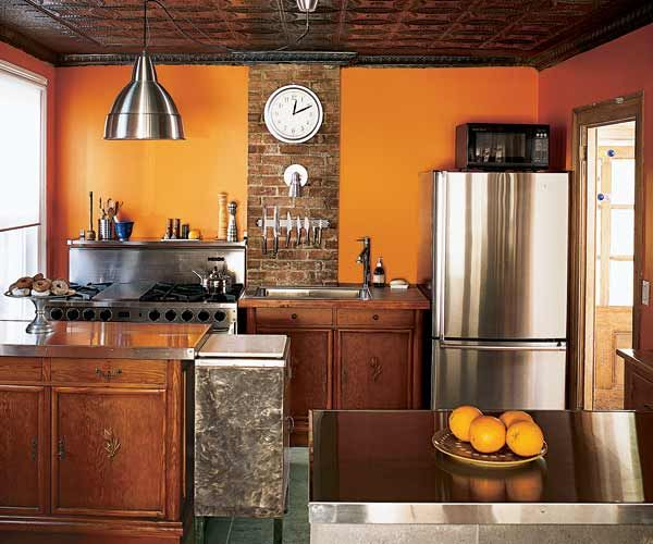 Burnt Orange Kitchen Cabinets 12 best kitchen images on pinterest | kitchen ideas, knotty pine