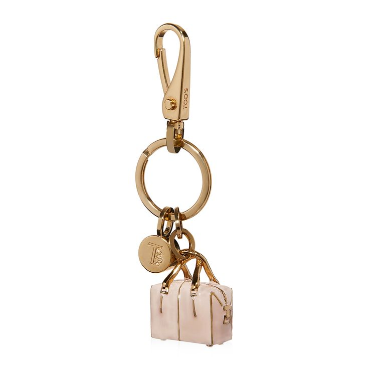 Tod's - Polished Metal Key Holder #theluxer #thestories #Tods #EleonoraCarisi