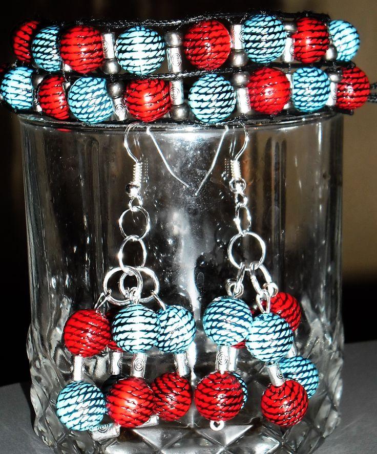 glass beads! beautiful set!