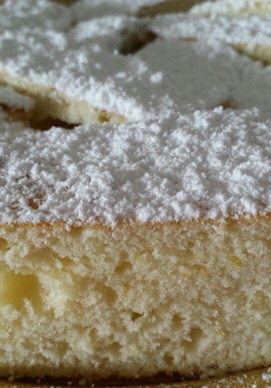 torta frizzante al limone bimby