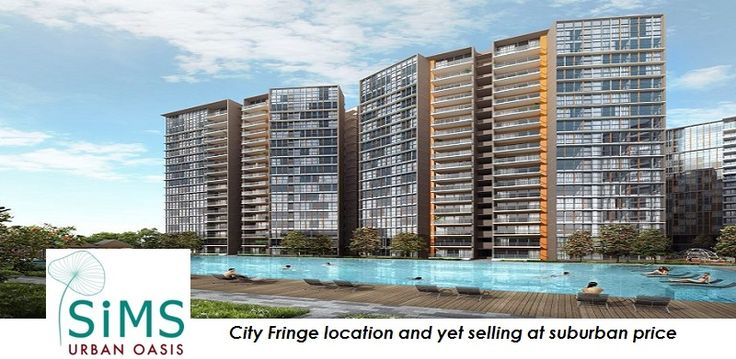 Sims Urban Oasis: City fringe location but selling at suburban price