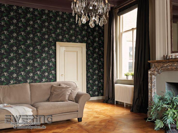 30 best sophie charlotte von rasch - tapeten im elegantem stil ... - Wohnzimmer Tapete Grun