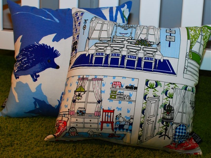 www.avaradesigns.com  Cushion covers, curtains and fabrics