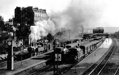L'ancienne gare d'Auteuil. 16ème arr.