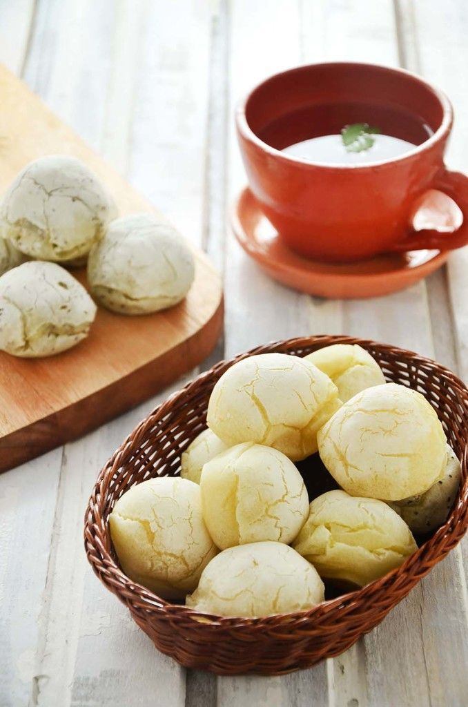Pão de queijo vegano sem gluten lactose