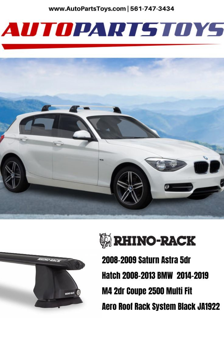 Rhino 2500 roof rack with Aero bar in 2020 Bmw, Roof
