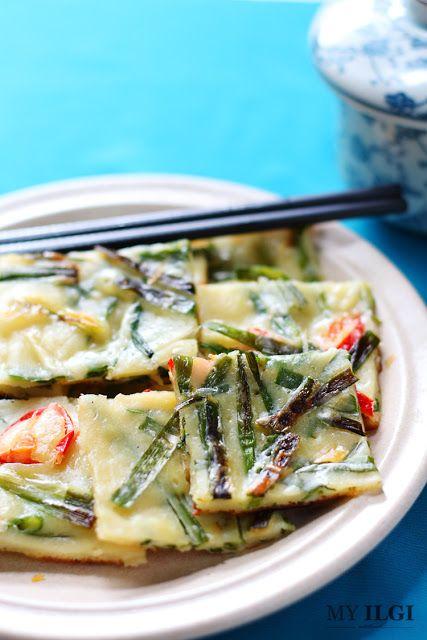 MY ILGI: Resepi Pajeon (Korean Pancake)