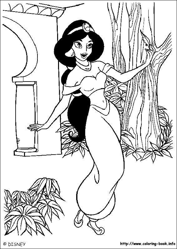 Aladin Coloring Pages 51 Is A Page From BookLet Your Children Express Their Imagination When They Color The
