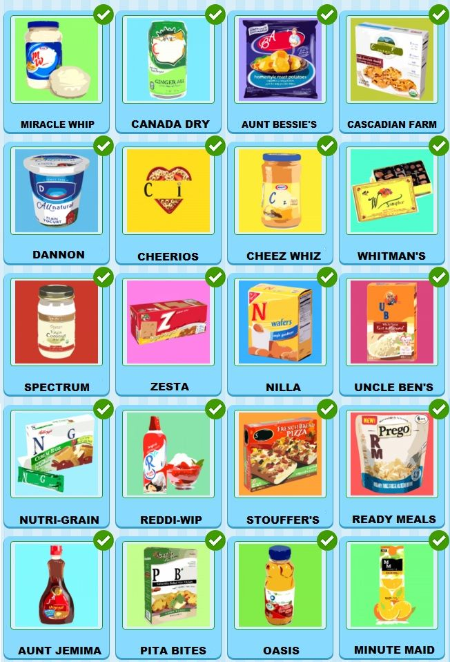 valentine food quiz