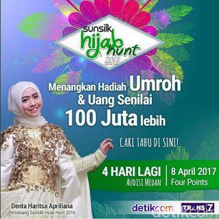 """Panggung Jakarta: Hadiah Umroh Dan Ratusan Juta Rupiah """"Sunsilk Hija..."""