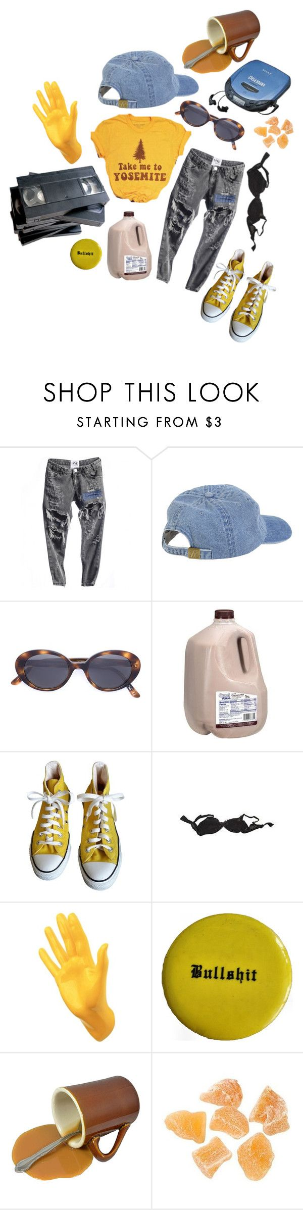 """you look so out of it pull it together we could love you forever and ever"" by chmpgn ❤ liked on Polyvore featuring Oliver Peoples, Converse, Agent Provocateur and Thelermont Hupton"