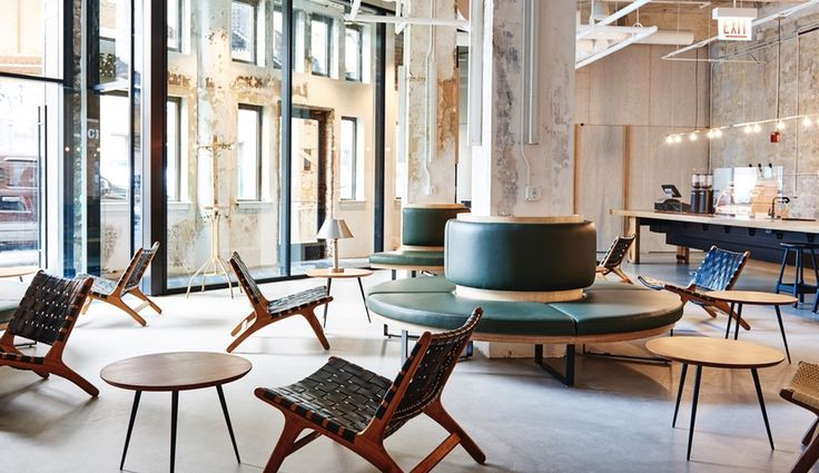 For The Hollander hotel in Chicago, Paris-based firm Delordinaire has created spaces that encourage interaction - online and off.