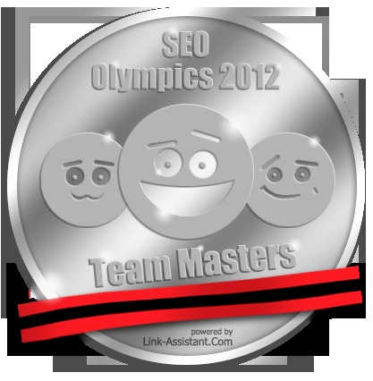 #SEO Olympics 2012 held by Link-Assistant.Com are over! 2nd place [Team Masters] goes to Albania! #SEOolympics