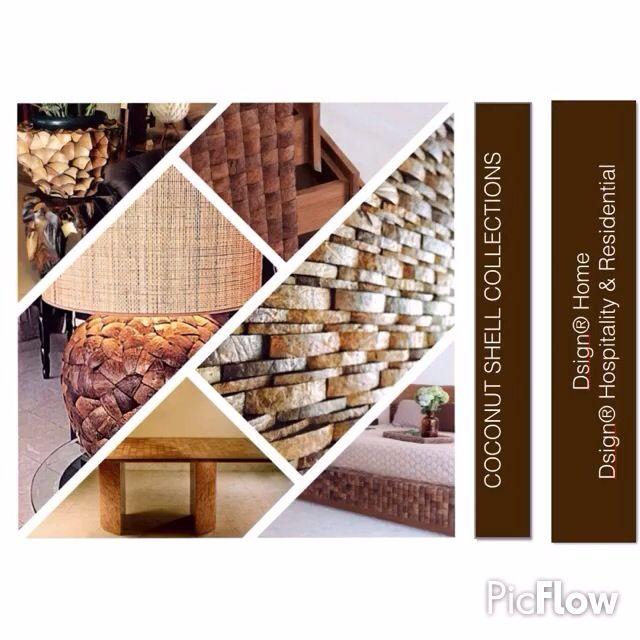Exclusive Luxury Interiors by Dsign®. Unique design ideas. Coconut shell inspiration. https://instagram.com/p/BQ1myNpFJVb/