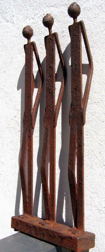 esculturas en hierro reciclado - Buscar con Google