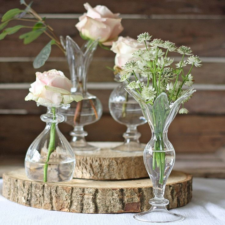Small Gl Bud Vases Wedding Centrepieces Available From Www Theweddingofmydreams Co Uk