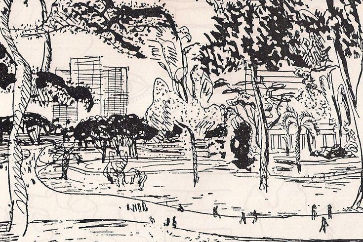 """kundst: """"Le Corbusier (CH 1887-1965) La Ville Radieuse (1933) """""""