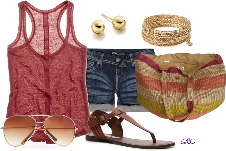 outfit ~ summerWomen Fashion, Outfit Ideas, Summer Outfit, Fashion Style, Summer Style, Summertime Outfit, Summer Fun, Summer Clothing, Summer Time