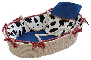 Western Moses Basket contemporary cribs