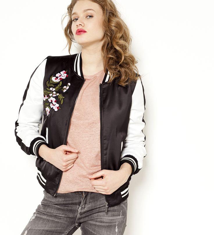 17 meilleures id es propos de vestes bomber sur pinterest tenue de jeans fonc mode. Black Bedroom Furniture Sets. Home Design Ideas