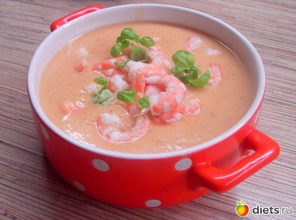 Суп с рыбой и брокколи