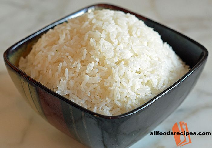 Thai Jasmine Rice – This is an indescribably delicious with an aromatic flavor of jasmine and the presence of ginger and garlic brings perfection.    RECIPE : http://www.allfoodsrecipes.com/recipe/thai-jasmine-rice/