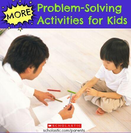 Problem solving scenarios elementary school
