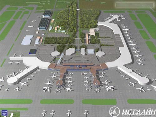 Expansion of Domodedovo Airport Moscow Area Airports