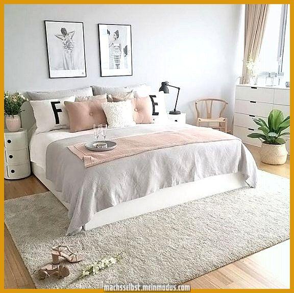 Schlafzimmer Deko Gold