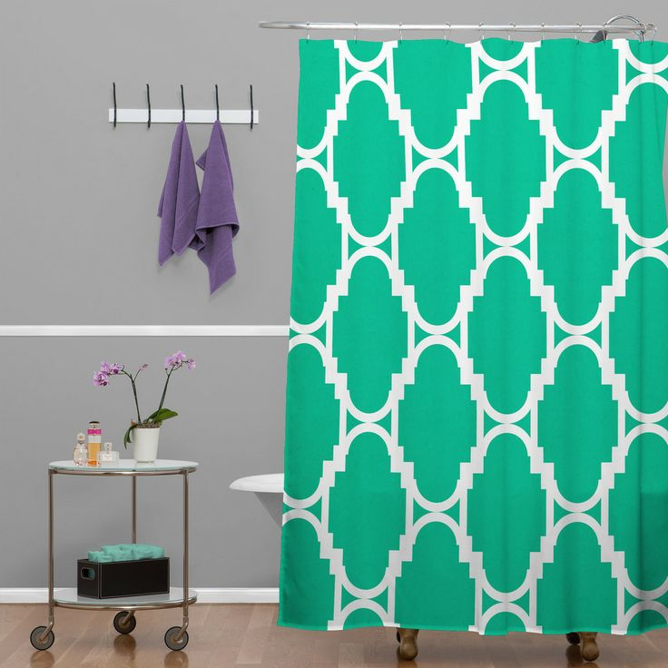 17 Best Ideas About Turquoise Shower Curtains On Pinterest