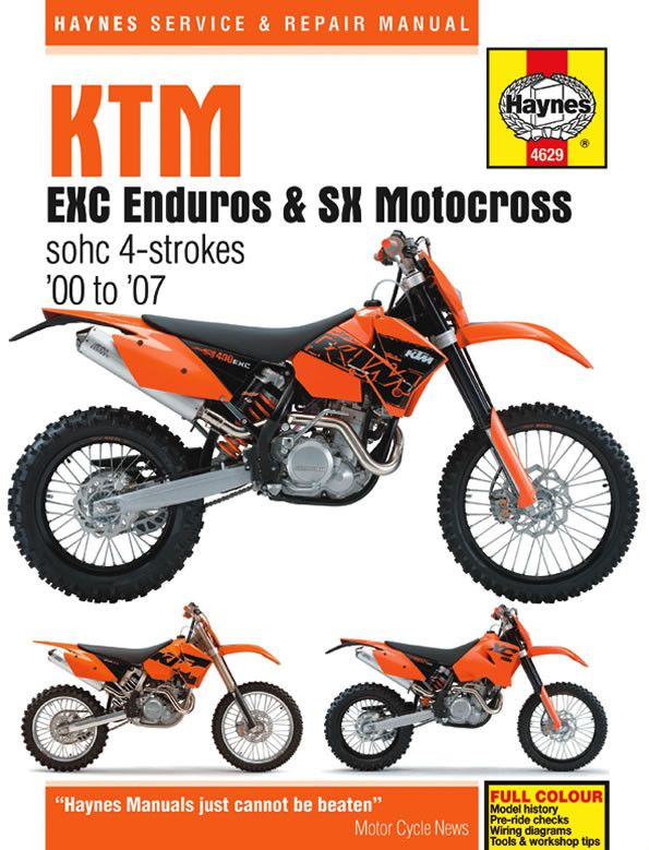47ea7f7204f135a86f6c23ceb911be0b repair manuals ktm best 25 ktm 525 exc ideas on pinterest ktm cafe racer, ktm exc  at gsmx.co