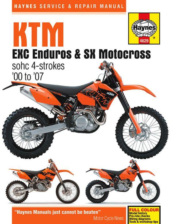 47ea7f7204f135a86f6c23ceb911be0b repair manuals ktm best 25 ktm 525 exc ideas on pinterest ktm cafe racer, ktm exc  at mifinder.co
