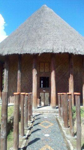 El templo del Sol en Sogamoso que nos recuerda de tiempos gloriosos y creativos.