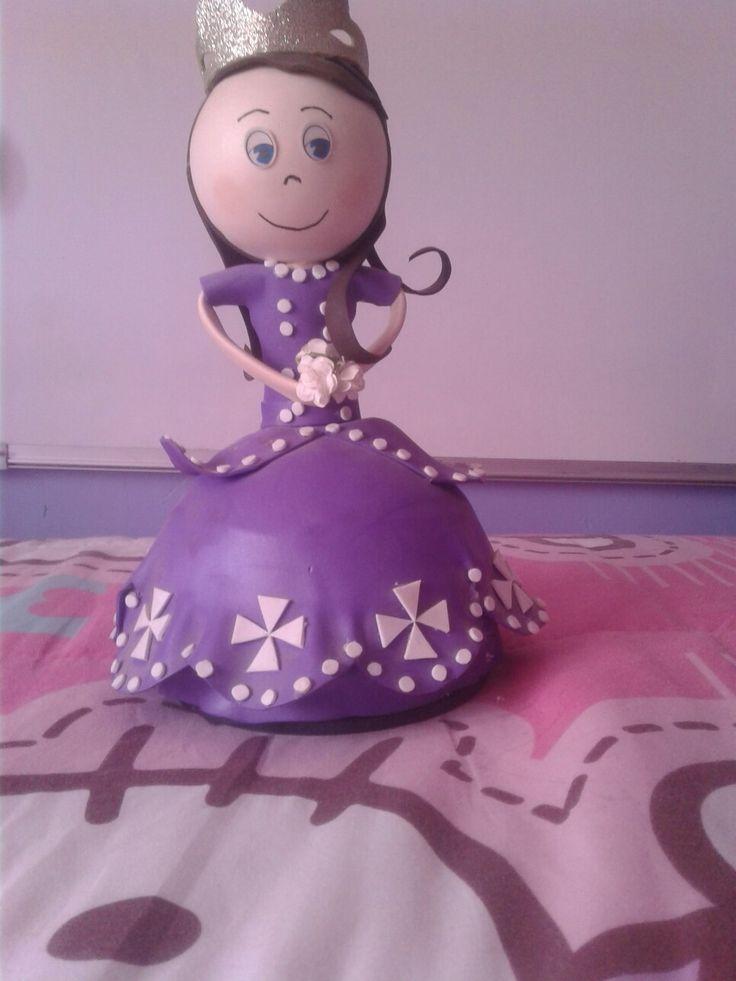 Prinsesa sofia en goma eba