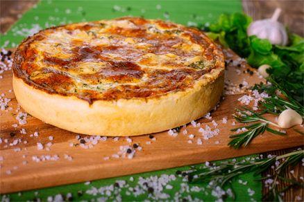 Вкусно как дома - Киш с капустой брокколи и сыром фета