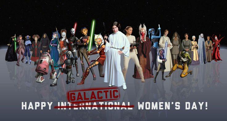 Joyeuse Journée Internationale de la Femme ! Aujourd'hui nous rendons hommage à toutes les femmes qui font du monde (et celles lointaines, très lointaines) un meilleur endroit.