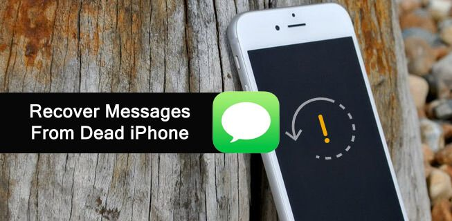How Can I Retrieve Text Messages From A Dead Iphone Text Messages Iphone Messages