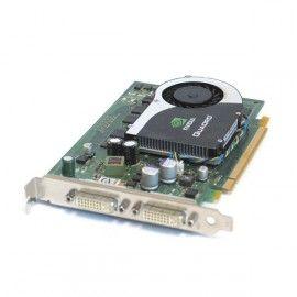 Carte Graphique NVIDIA Quadro FX570 0WX397 PCI-Express 16x 256Mo DDR2 DUAL DVI