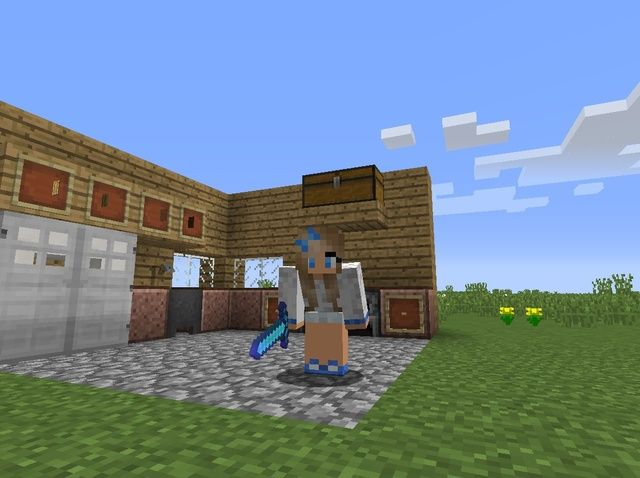 Student created Tutorial: How to Build a Simple Kitchen in #Minecraft #stuchoice #stuvoice
