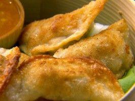 Shrimp Dumplings : Chuck Hughes
