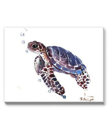Another great find on #zulily! Purple Tortoise Wall Art by Suren Nersisyan #zulilyfinds