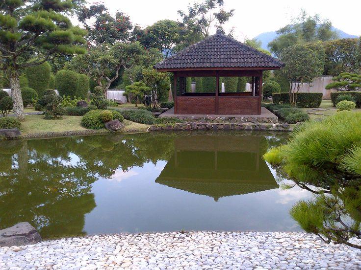 Taman Nuansa Jepang, Taman Tematik, Taman Bunga Nusantara, Bogor