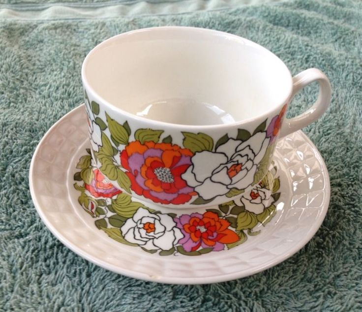 Pontesa Ironstone cup and saucer - Made in Spain