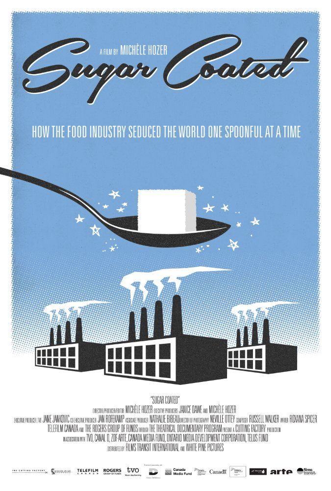 "SUGAR COATED | ""This documentary investigates the history of the food industry's use of sugar, its health impact on society, and the politics of the 'new tobacco'."""