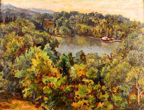 Samuel Mützner - Peisaj la Lac