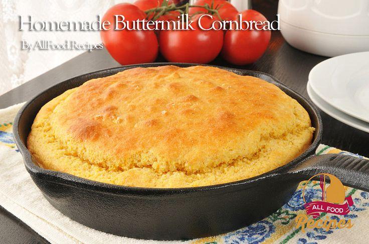Homemade Buttermilk Cornbread | by Thinkarete